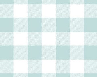 Mint Baby Bedding Fitted Crib Sheet -Changing Pad Covers /Mini Crib Sheets /Buffalo Check Crib Bedding Change Pad Cover Mint Blue