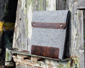 Gray Felt Asus Zenbook Case. Asus sleeve for zenbook 3 deluxe. Zenbook 3 case. zenbook flip case. zenbook 13 case. zenbook 14 case