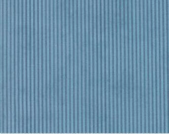 Ann's Arbor Medium Blue Fabric Yardage by Minick and Simpson for Moda Fabrics #14849 15 100% Cotton