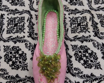 Hand Painted Pointe Shoe