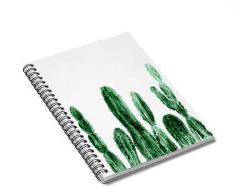 Cactus Notebook, cactus journal