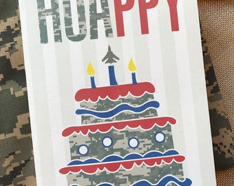 Camo birthday card etsy 17 air force birthday card camo birthday card air force card basic bookmarktalkfo Image collections