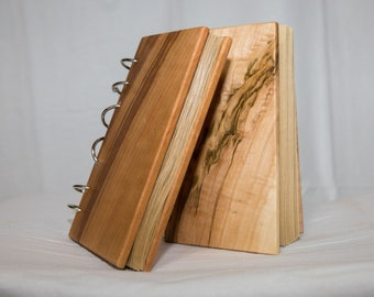 Awesome Artsy Wood Panel Sketchbook / Journal