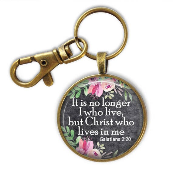 Bible Verse Key chain