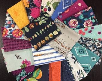 Mediterraneo Fabric Bundle - Full Collection - Katarina Roccella - Art Gallery Fabrics -  20 Fat Eights or 20 Fat Quarters or 20 Half Yards