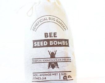 Bee Seed Bombs