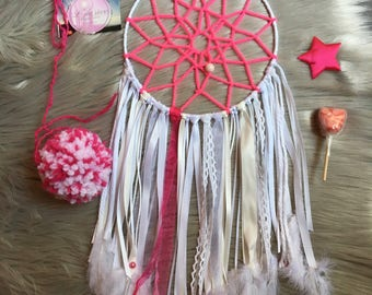 Dream catcher pink girly