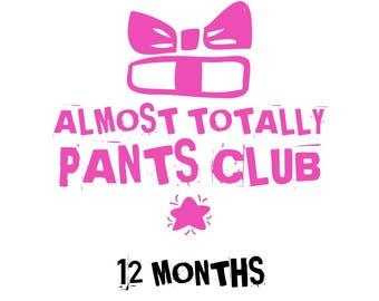 Almost Totally Pants Club - 12 Month Subscription