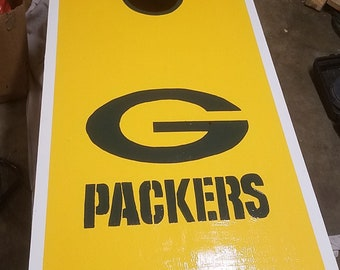 Cornhole Board Green Bay Packers
