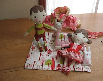 Storybook Hansel & Gretel  Doll Set