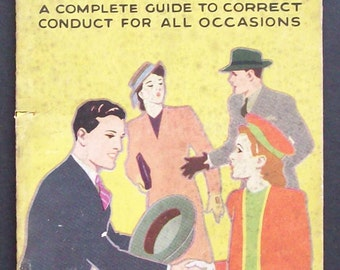 Etiquette For Everyday Life, By F R Ings, Published by W Foulsham and Co.
