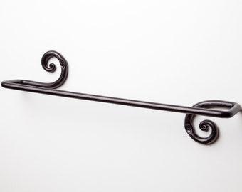 Decorative Towel Bar- Towel Rack | For Kitchen or Bathroom | RTZEN-Décor Handmade Wrought Iron Holder