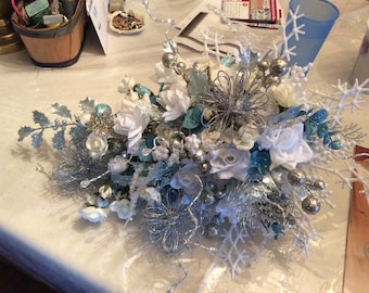 Winter themed Bridal Bouquet