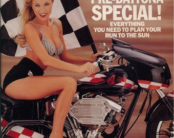 Easyriders Magazine March 1994 Excellent Plus Condition Motorcycle Tattoos Girls  Mature