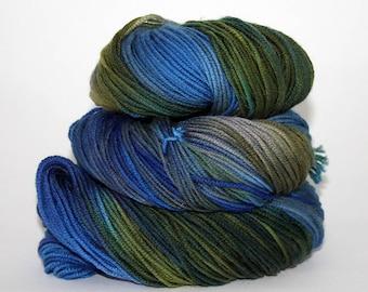 Hand-Painted DK Superwash Merino Wool Yarn - Marshlands