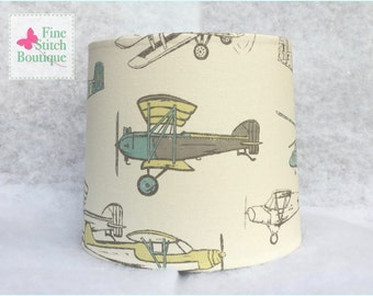 Vintage Air Formica Cylindrical BABY NURSERY LAMPSHADE