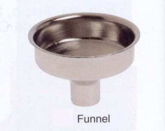 Add A Flask FUNNEL for any size Metal Flask
