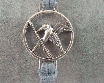 Hunger Games grey bracelet