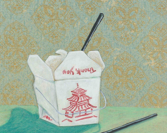 Chinese Take-Out greeting card