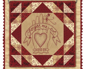 SALE!! Forget Me Not Embroidery pattern by Kathy Schmitz