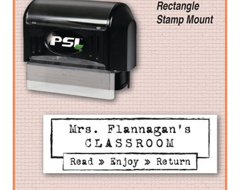 Teacher Stamp, From the Classroom of Stamp, Teacher Book Stamp, Read It Enjoy It | MS-REC-15