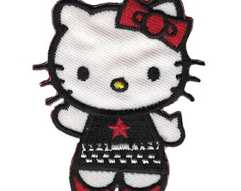Hello Kitty kawaii Goth coat