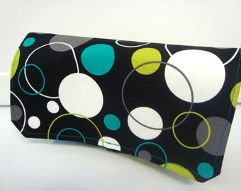 Coupon Organizer  Holder-Attaches to Your Shopping Cart WITH Checkbook  Lagoon Hoopla Dot Lagoon Gift Set