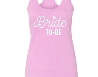 Bride To Be Tank | Bride Tank | Bridal Tank | Bachelorette Tank | Bridal Party Tank | Bridal Party Gift | Bachelorette Gift | Bridal Gifts