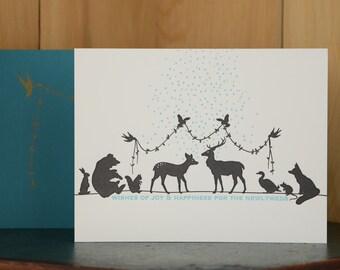 Newlyweds - letterpress wedding card
