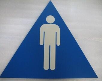 Männliche Zeichen für Toilette, Schlafzimmer, Mann Höhle oder anderen Bereich
