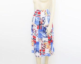 Size 12, 90s Skirt, Summer Clothing, Festival Skirt, Midi Skirt, Bohemian, Clothing, Ladies Vintage, Vintage Womens
