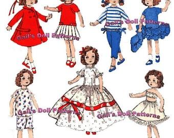 "Vintage 8"" Doll Wardrobe for Alexanderkins"