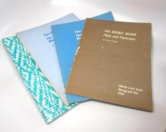 Shuttle Craft Guild Monographs 1, 20, 21, 35 Used