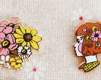 B GRADE PINS // Seconds sale! // hard and soft enamel pins