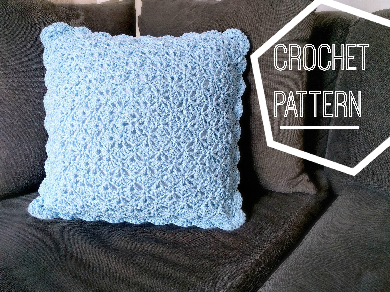 Shabby chic shells crochet pillow pattern crochet pattern zoom bankloansurffo Choice Image