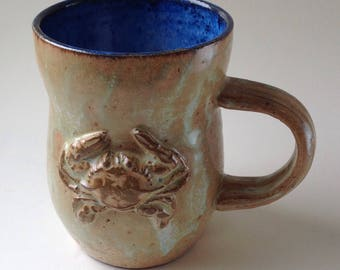 Blue Crab Ceramic Mug, 9oz. for both the Astrology lover and those in love with Maryland Crabs! Or maybe... the crabby one in your life.
