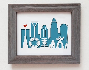 Charlotte NC.  Personalized Gift or Wedding Gift