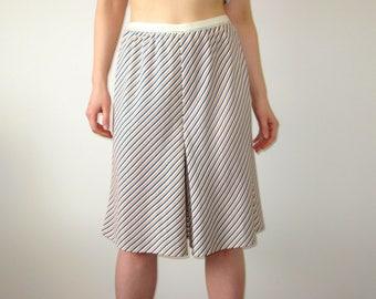 Handmade Striped Skirt Shorts