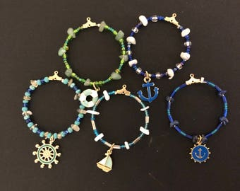 Anchors Aweigh Wine Charms