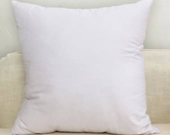 "Large Cushion Covers White With Concealed Zipper Quality Fabric 20"" 22"" 24"" 26"""