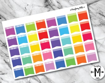 Flag Stickers for Planners