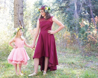 Cherry Blossom flower girl dress
