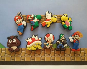 Super Mario Brothers Mini Magnets**Fun Gift Idea**