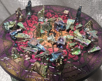 Bismuth Crystals - 5 for 5