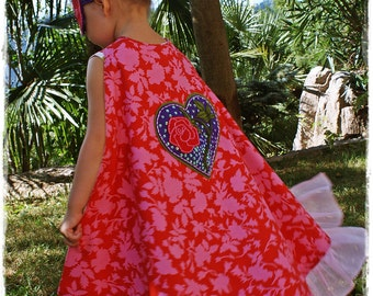 Super Princess Cape PDF Pattern