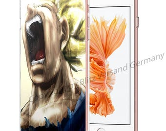 DRAGONBALL Z Smartphone transparent TPU Case with motif fit for Smartphone models Huawei iphone SAMSUNG Cartoon Comic M1