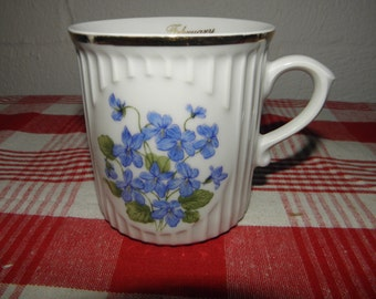 February Violet Cup of the Month Club Mug