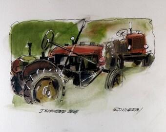 Farm Tractor 0004