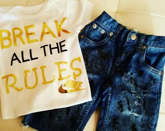 Break all the rules boys outfit