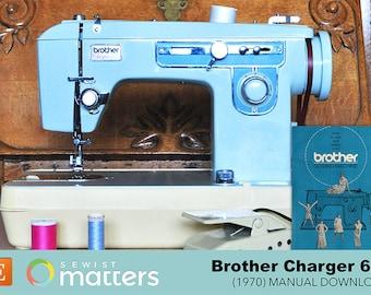 Vintage Brother 651 Sewing Machine Manual PDF Download